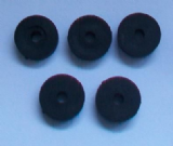 Pegler Small Hole Rubber Tap Washers - Pack of 5 - 72000133